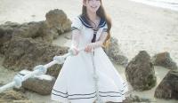 斗鱼美女主播yurisa小清新风格写真图片