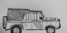 绝地求生吉普车怎么画 吉普车可以坐几个人