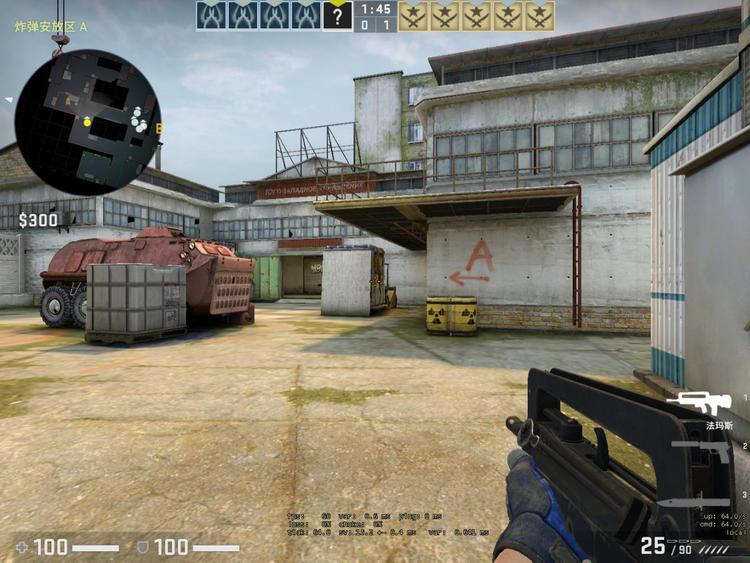 CSGO战术教学:死城之谜5个实用穿点位置,A小道蓝门巧用提胜率